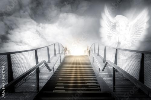 Fototapeta The stairs to heaven