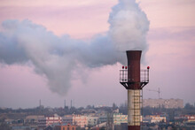 The Chimney Of The Plant, From...