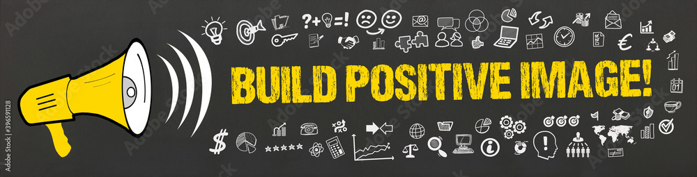 Fototapeta Build positive image!