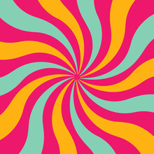 An Abstract Spiral Burst Background Image.