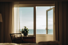 View Of Sea Seen From Bedroom