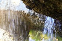 Backside Of Tsukimachi Waterfall