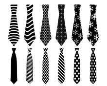 Necktie Svg, Tie SVG Bundle, Necktie Men Svg, Tie Clipart, Fashion Clothes, Tie SVG Files For Silhouette Cameo And Cricut