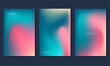 Abstract blurred gradient background. Vector illustration