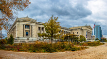 The Field Museum Exterior View In Chicago City Of Illinois