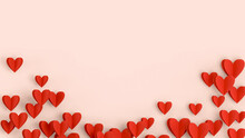 Valentine's Day Background. Valentines Day Concept.