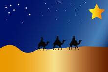 Reyes Magos Por El Desierto Si...