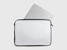 Laptop Notebook Sleeve Isolated Mockup On White Background