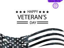 Veterans Day. Honoring All Who Served. November 11. Veteran's Day Poster.Honoring All Who Served. American Flag Veteran, US Military Veteran Flag , Clipart