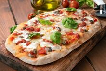Pinsa Romana, Squisita Variante Della Pizza Italiana