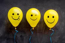 Positive Emotions Set. Happy A...