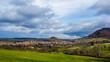Blick über Beuren, Albvorland, LKR Esslingen, Baden-Württemberg