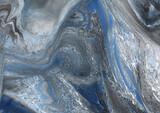 Fototapeta Kamienie - Marmurowo kamienne niebieskie tło tekstura.
