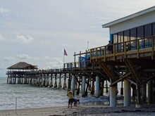 United States, Florida, Brevard County, Coastal Town Of Cocoa Beach, Westgate Pier