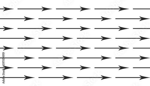 arrière-plan de flèches sur fond blanc Fotobehang