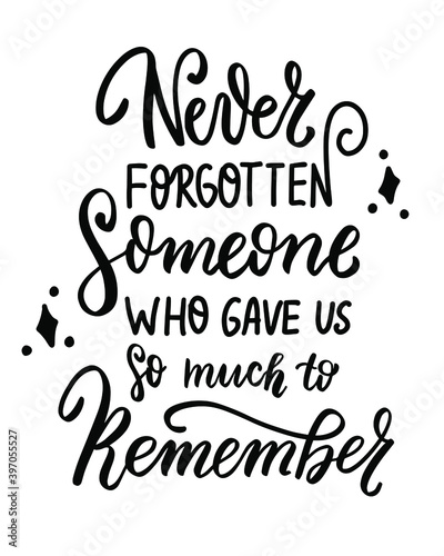 Memorial lantern. Remembering. Christmas on Heaven. Family holidays quote. Hand lettering. Wall mural