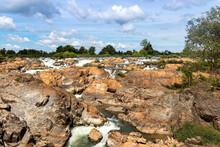 Cascades à Don Khone, Laos