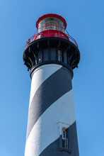 Looking Up At The St Augustine Lighthouse