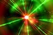 red laser light background