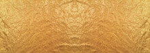 Shiny Canvas Toned In Fortuna Gold, Wallpaper, Outline Of Baphomet, Alien