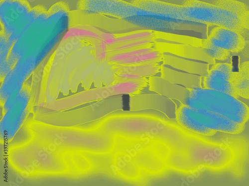 Fototapeta Ilustracja Obrazek taki sobie rysunek obraz