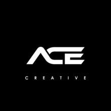 ACE Letter Initial Logo Design Template Vector Illustration