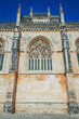 facade with bas-relief of an ancient portugal monastery