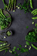 Fresh Culinary Green For Cooking