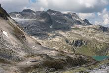Weissee In Summer, Uttendorf, Alps, Austria