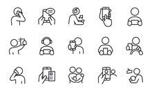 Smartphones Icons Vector Design