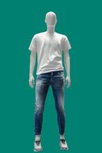 Full Length Male Mannequin.