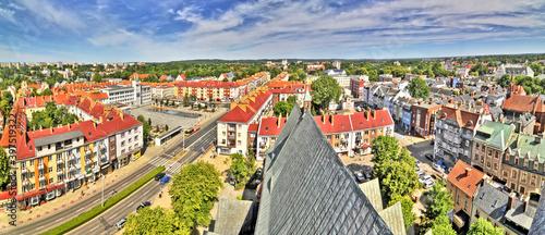 Fototapeta premium Widok centrum Koszalina