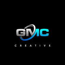 GMC Letter Initial Logo Design Template Vector Illustration