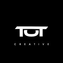 TOT Letter Initial Logo Design Template Vector Illustration