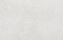 Beautiful White Glazed Tile Background