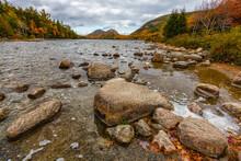 Jordon Pond In Acadia National Perk In Maine