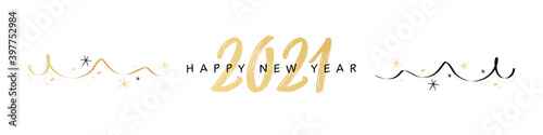 Happy new year 2021 Wallpaper Mural