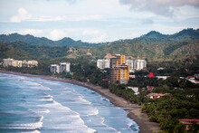 View Of Jaco Beach City In Costa Rica