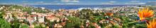 Puerto De La Cruz, Touristenort Von Oben, Insel Teneriffa, Kanaren, Spanien, Europa, Panorama