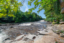 Aysgarth Falls In The Yorkshire Dales, England