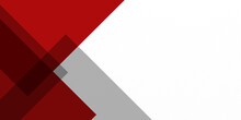 Simple Modern Flat Business Corporate Abstract Modern Background Gradient Color. Red Maroon And White Gradient With Stylish Line And Square Decoration Suit For Presentation Design.