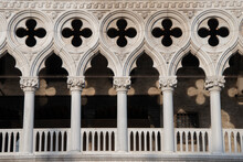 Doge's Palace, Historically Seat Of The Doge Of The City Of Venice, Italy, Europe