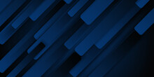Abstract Modern Royal Dark Blue With Overlap Layers Background