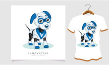 Dog Robot Classic T-shirt, Dog T Shirt Images, Stock Photos And Vectors