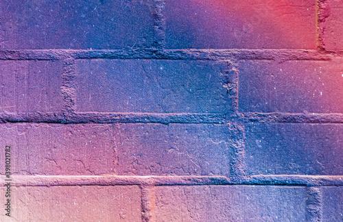 Obraz na plátně Beautiful bright colorful street art graffiti background