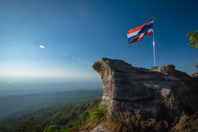 High View Point To See The Forest And Fog At Pha Chu Thong Attractions In Phu Hin Rong Kla National Park