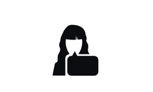 Customer Support Icon Vector Design