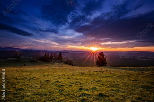 Obraz Jesienne krajobrazy - fototapety do salonu