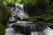 Mhan Daeng Waterfall, Phu Hin Rong Kla National Park, Thailand