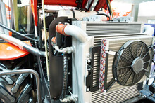 Fan And Radiator Cooling System Of Tractor